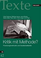 Kritik mit Methode? Forschungsmethoden und Gesellschaftskritik